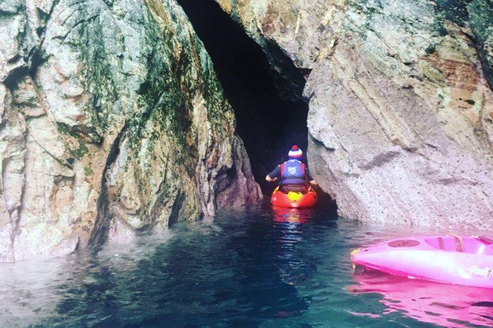 activities coasteering/kayaking