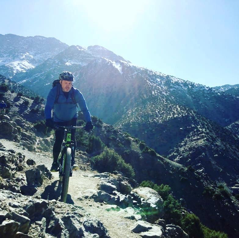 Moiuntain biking Morocco