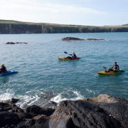 Kayaking Pembrokeshire, Kayaking St Davids, Kayaking Blue Lagoon, Kayaking Wales, Adventure Holidays, Muuk-adventures