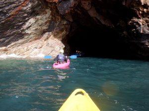 kayaking st davids, kayaking pembrokeshire, kayaking blue lagoon, kayaking abereiddy, kayaking wales, muuk adventures, kayaking trips, kayaking holidays