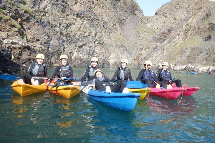 Kayaking Blue Lagoon Wales, Kayaking Blue Lagoon, Kayaking St Davids, Kayaking Holidays, Kayaking Trips, Kayaking Pembrokeshire