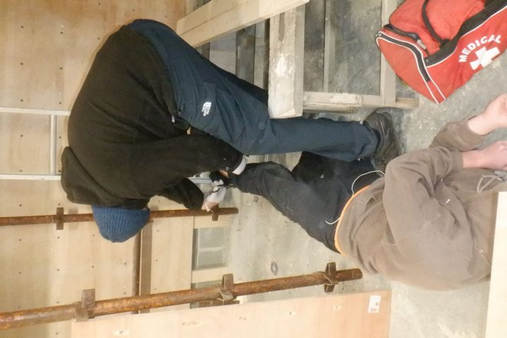 First Aid Training Construction